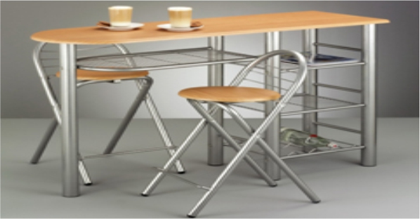 metal table and chairs furniture i