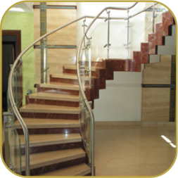 Stainless steel, Glass, Metal, Railings Manufacturers